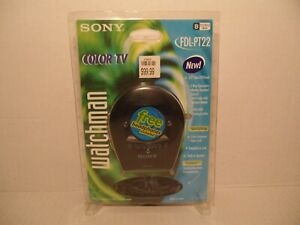 "Sony Watchman 2.2"" LCD Color TV Model FDL-PT22 Brand New/Sealed"