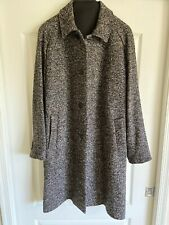 Bonobos Wool Trench Coat - Charcoal Confetti Donegal - size US 44R