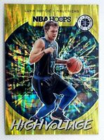 Luka Doncic 🔥F🐐 S⭐ 💎🔥 2019-20 Panini NBA Hoops Premium Stock High Voltage #9
