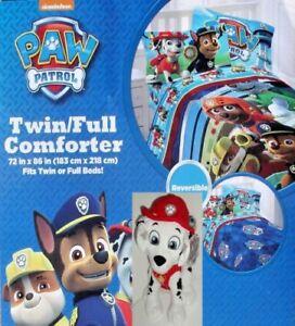 Nickelodeon Paw Patrol HERO Twin/Full Comforter Bedspread-NEW Sealed -Free Ship