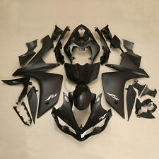 Black Injection ABS Plastic Fairing Body Work For Yamaha YZFR1 YZF R1 2007-2008