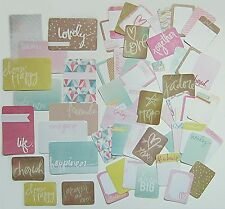 "PROJECT LIFE ""Heidi Swapp""  [Dreamy]  Core Kit Cards  (60 cards)"