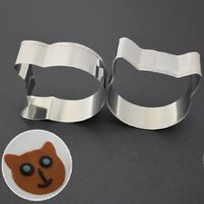 New Cat Shape Stainless Steel Mold Cookie Cutter Biscuit Baking Pastry Moulds