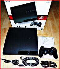 Sony PlayStation 3 ps3 & Zub selección: 40 - 500 gb Slim/Fat + hmdi + juegos-ovp-320