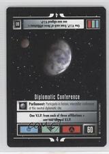 1995 Expansion Set Base #NoN Diplomatic Conference Gaming Card 0e3