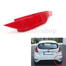 Right Hand RHD Rear Bumper Reflector Light Fog Lamp For Ford Fiesta Mk7 08-12