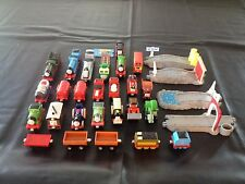 LARGE COLLECTION OF THOMAS TAKE ALONG TRAINS WITH ACCESSORIES, DIECAST