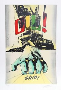 Gianni Bertini, Grip, Screenprint, signed and numbered in pencil