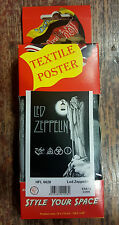 Led Zeppelin Textile Poster Officially Licensed Banner Flag Rock Music