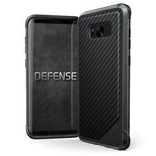 X-Doria Defense Lux Extremschutz Case Carbon Aluminium für Galaxy S8+ schwarz
