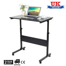 Ajustable Portable Lazy  Laptop Computer Table Desk W/ Wheel Stand Sofa Bed Tray