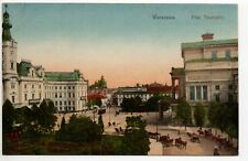 POLOGNE POLSKA POLAND Polskie Varsovie Warszawa Warschau Plac teatralny