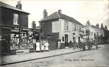 Maidenhead. Bridge Road & Geo.F.Whitmill Shop. Hairdresser & Tobacconist.