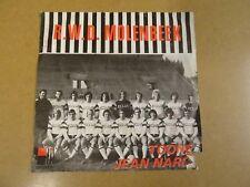 """FOOTBALL VOETBAL SINGLE 45 7"""" / R.W.D. MOLENBEEK"""