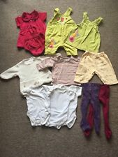 Bundle Baby Girl Clothes 0-3 Months Vintage 1990s Mostly Mothercare