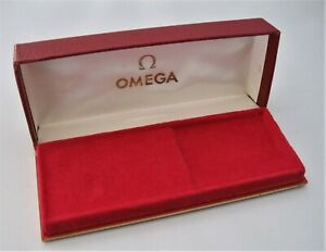 Genuine Vintage 70's Omega Presentation Watch Box Very Good Condition Throughout