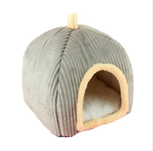 Pet Cat Tent Small Dog Soft Nesting Bed Met House Covered (S,M,L)(F08)