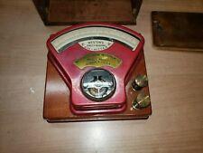 Antique Weston Ammeter Wood Case Model No 8631