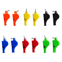 2pcs Safety Whistle for Outdoor Emergency Camping Hunting/ Referee Whistle