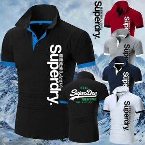 Men T-Shirts Streetwear Superdry (different colors and size)