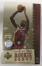 2006-07 Upper Deck Rookie Debut Factory Sealed Basketball NBA Hobby Box