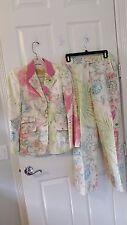 Etro Milano Print 2 Piece Suit - Size M