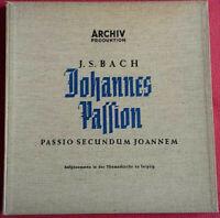 J. S. Bach / Johannes Passion / Passio Secundum Joannem 3 LP BOX Vinyl Archiv