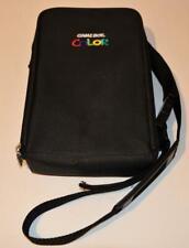 OFFICIAL BLACK NINTENDO GAMEBOY COLOR TRAVEL/STORAGE BAG CARRY CASE GBC