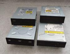 lot de 4 lecteur graveur cd/dvd/cd rom ordinateur de bureau