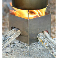 Camping Stove,Ultralight,Multifuel, Gen. 2 Folding  Nano + Cordura Case