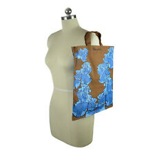 NWT Marc by Marc Jacob Flower Tote Brown/Blue