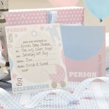 Baby Shower Einladungskarten 10 Stk. Zur Babyparty