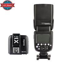 US Godox TT685S 2.4G HSS TTL Flash Speedlite + X1S Trigger for Sony a77II a7R