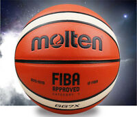 Molten GG7X 7 Men's Basketball PU In/Outdoor Sports Training Ball&needle &bag