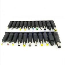1 Set DC 5.5x2.1mm Female Jack to 23 Multi Type Power Plug Connector Adapter BE