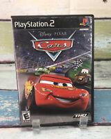 Disney Pixar Cars Sony PlayStation 2 PS2 Mater McQueenn Racing