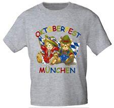Kinder T-Shirt Shirts 78 86 92 98 104 116 128 140 Oktoberfest Muenchen 08144