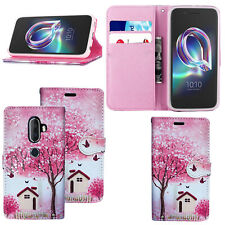 For Alcatel 3V / 3C/ 3 2019 New Stylish Premium Leather Wallet Phone  Case Cover