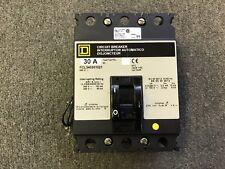 SQUARE D CIRCUIT BREAKER 30 AMP 480V 3 POLE 120-240V SHUNT FCL340301021