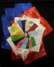 20 Elvis ETA satin Jumpsuit scarves17 colors scarf .2-3 days delivery uk to usa