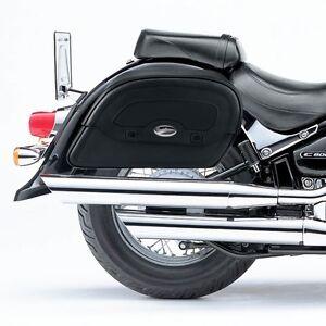 SUZUKI C800/ VL 800 INTRUDER Saddle Bags & RIGID SUPPORT BRACKETS SM S0438/W0056