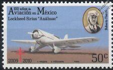 Roberto Fierro Lockheed SIRIUS avions cachet (100 ans d'aviation au Mexique)