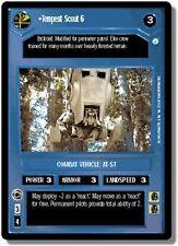 Star Wars CCG Endor DS Rare Tempest Scout 6