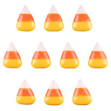 10pcs Candy Corn for Halloween Resin Flatbacks Scrapbooking Hair Bow Crafts