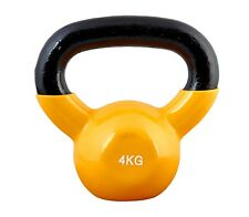 Kettlebell Ju-Sports 4 kg, Vinyl, NEU, KETTLE-BELL, Kettelbell - Kugelhantel