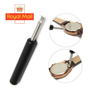 Metal Watch Back Case Cover Remover Battery Opener Pry Lever Snap Repair Tool M