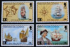 500th anniversary discovery of America by Columbus stamps '92, Tristan da Cunha