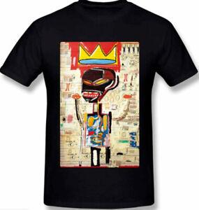 Jean Michel Basquiat T-Shirt Funny Cotton Tee Vintage Gift For Men Women