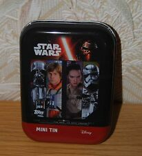 Star Wars Journey To The Force Awakens Empty Mini Tin Topps Good+ Condition