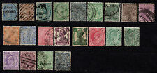 British India stamps, used